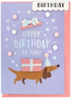 Crate Paper Greeting Card-Birthday Dog - 1