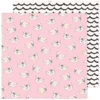 Maggie Holmes Marigold Double-Sided Cardstock 12 X12 -Darling - 1