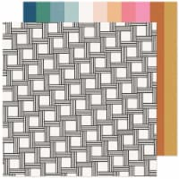 """Maggie Holmes Marigold Double-Sided Cardstock 12""""X12""""-Dream Big - 1"""