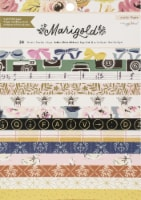 Crate Paper Single-Sided Card Making Pad 6 X8  24/Pkg-Maggie Holmes Marigold - 1