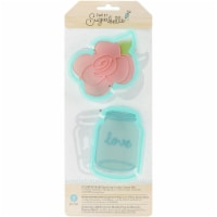 Sweet Sugarbelle Specialty Cookie Cutter Set 7/Pkg-Country Rose - 1
