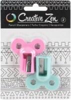 Creative Zen Pencil Sharpener 2/Pkg-Mouse Ears - 1