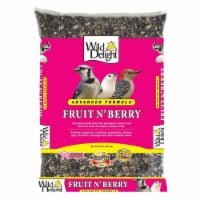 Wild Delight Fruit N Berry Assorted Species Wild Bird Food Sunflower Seeds 20 lb.