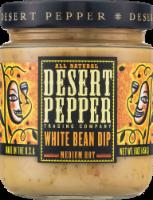 Desert Pepper Medium Hot  White Bean Dip - 16 oz