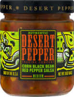 Desert Pepper Corn Black Bean Red Pepper Salsa