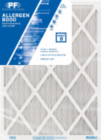 PuraFilter 2000 Performance Pollen and Allergen Air Filter - White