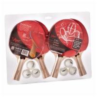 Viper Four Racket Table Tennis Set - 1