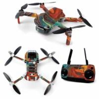 MightySkins DJMAVMIN-Lava Water Skin for DJI Mavic Mini Portable Drone Quadcopter - Lava Wate - 1