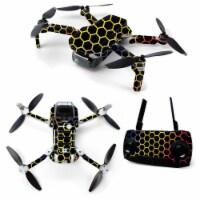 MightySkins DJMAVMIN-Primary Honeycomb Skin for DJI Mavic Mini Portable Drone Quadcopter - Pr