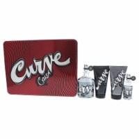 Liz Claiborne Curve Crush 4.2oz Cologne Spray, 15ml Cologne Spray, 2.5oz Skin Soother, 2.5oz