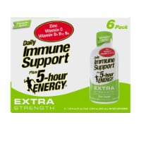 5-Hour Energy Pineapple Apricot Extra Strength Daily Immune Support Supplement - 6 bottles / 1.93 fl oz