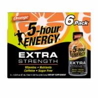 5-Hour Energy Extra Strength Orange Shot - 6 ct / 1.93 fl oz