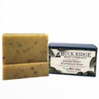 Buck Ridge Soap BS-PL-PM-03 USDA Certified Organic Pepper Minty Handmade Soap - 1