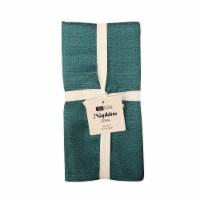 Arlee Home Fashions Sisal Napkins - Turquoise