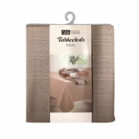 Arless Home Fashions TableTrends Sisal Tablecloth - Tan