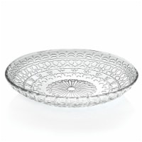 Lorren Home Trends 260490 7 in. 4 Piece Medici Fruit & Salad Plates
