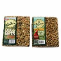 Home & Garden Bug Nuts Safflower Xl Cake Seed No Mess Never Melt 440*140Gs - 1