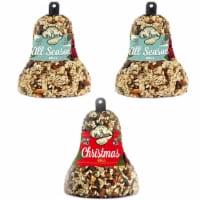 Home & Garden All Season & Christmas Bell S/3 Bird Feeding Cardinals Wrens 621*621*618 - 1