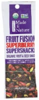 Made in Nature Organic Fruit Fusion Superberry Fruit & Seed Snack