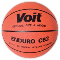 Olympia Sports BA008P Voit Official Rubber Basketball - 1