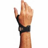 Proflex by Ergodyne Wrist Support, 2XL, Left, Black  4020 - 1