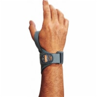 Proflex by Ergodyne Wrist Support, 2XL, Left, Gray  4020 - 1