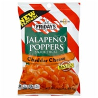 TGIF Jalapeno Poppers Snack Sticks Cheddar Cheese