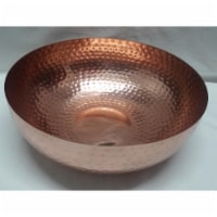 Star Dist 10165 Copper Plated Iron Bowl