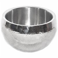 Star Distributors 82270 Stainless Steel Hammered Bowl, 8 in. - 1