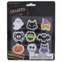 DDI 2340066 9 Count Halloween Erasers Case of 36 - 1