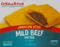 Golden Krust Jamaican Style Mild Beef Patties