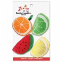 ZA Fruity Sweeties Cat Toys 4pc - 1
