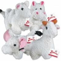 Zanies Fleecy Friend Toy Hippo 6In - 1