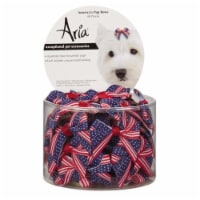 Aria North DT6241 48 Americas Pup Bow Canister 48 Pcs - 48