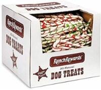 Ranch Rewards 250-Piece Raw Hide Candy Cane Bulk Box, 8-Inch - 1