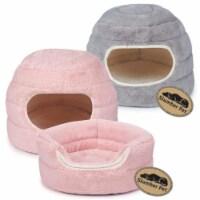 Slumber Pet Cuddler Bed Gray  - ZW9087 11 - 1