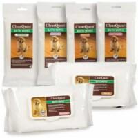 CQ Bath Wipe 100Pack Bag Fresh Pet - 1