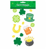 Ampro St. Patrick's Day Gel Cling Neon Decals