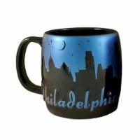Americaware SMPHI03 Philadelphia 22 oz Night Sky Silhouette Mug - 1