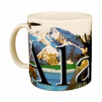 Americaware SMALA04 Alaska 18 oz Full Color Relief Mug - 1