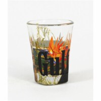Americaware SGGFS01 Gulf Shores Full Color Etched  Shot Glass - 1