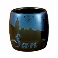 Americaware SCSSAT03 San Antonio Night Sky Silhouette Shot