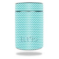MightySkins RTCAN-Turquoise Chevron Skin for RTIC Can 2016 Wrap Cover Sticker - Turquoise Che - 1