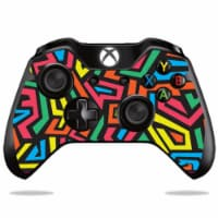 MightySkins MIXBONCO-Hyper Skin Decal Wrap for Sony PlayStation DualShock PS4 Controller - Ba - 1