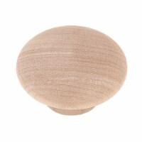 Laurey Wood Round 1-3/4 In. Cabinet Knob 32601