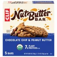 Clif® Chocolate Chip & Peanut Butter Nut Butter Bar - 5 ct / 8.8 oz