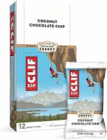 Clif Coconut Chocolate Chip Snack Bar, 2.4 Ounce -- 192 per case.