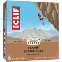 Clif Bar Peanut Toffee Buzz Energy Bars 6 ct