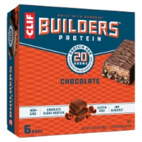 Clif Builder's Chocolate Protein Bars 6 Count