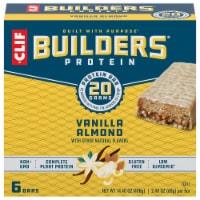 Clif Builder's Vanilla Almond Protein Bar 6 Count